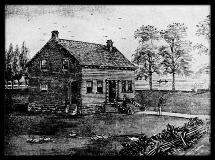Macdonald Home at Hay Bay 1824 -- 1830