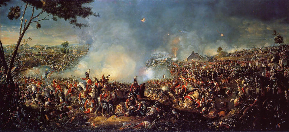 Battle of Waterloo 1815 by William Sadler II
